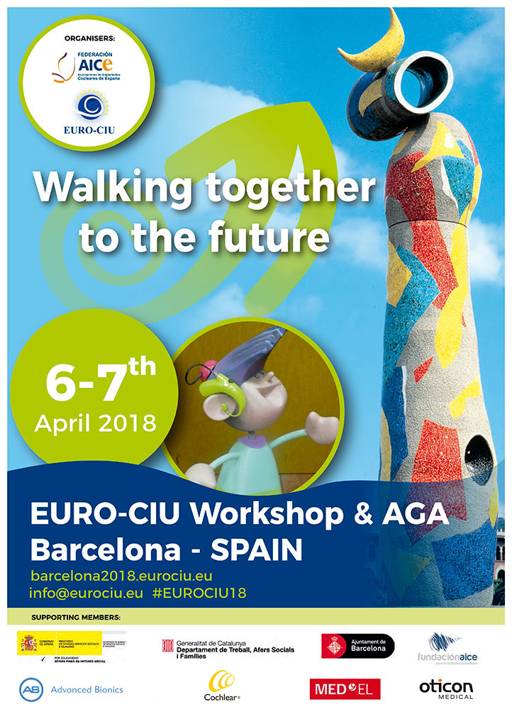 Cartel del Workshop EURO-CIU 2018